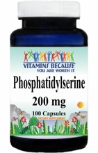 11138 Buy 1 Get 2 Free Phosphatidylserine 200mg 100caps or (200caps Scroll Down)