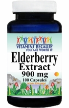 11206 Buy 1 Get 2 Free Elderberry Extract 900mg 100caps or (200caps Scroll Down)