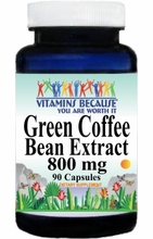 11244 Buy 1 Get 2 Free Green Coffee Bean Extract 800mg 90caps or (180caps Scroll Down)