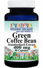11367 Buy 1 Get 2 Free Green Coffee Bean Standardized Extract 90caps or (180caps Scroll Down)