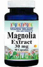 11381 Buy 1 Get 2 Free Magnolia Extract 30mg 90caps or (180caps Scroll Down)