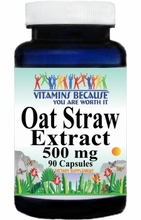 11428 Buy 1 Get 2 Free Oat Straw 500mg 90caps or (180caps Scroll Down)