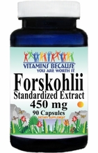 1146 Buy 1 Get 2 Free Forskohlii Standardized Extract 450mg 90caps or (180caps Scroll Down)