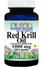 11503 Buy 1 Get 2 Free Red Krill Oil 1000mg 100caps or (200caps Scroll Down)