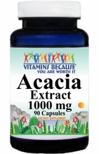 12272 Buy 1 Get 2 Free Acacia Extract 1000mg 90caps or (180caps Scroll Down)
