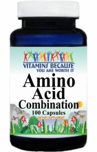 12609 Buy 1 Get 2 Free Amino Acid Combination 100caps or (200caps Scroll Down)