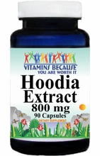 12753 Buy 1 Get 2 Free Hoodia Extract 800mg 90caps or (180caps Scroll Down)