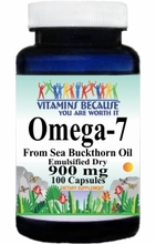 12876 Buy 1 Get 2 Free Omega-7 900mg 100ct or (200caps Scroll Down)