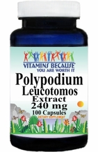 12937 Buy 1 Get 2 Free Polypodium Leucotomos Extract 240mg 100caps or (200caps Scroll Down)