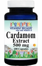 12975 Buy 1 Get 2 Free Cardamom Extract 500mg 100caps or (200caps Scroll Down)