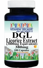 13149 Buy 1 Get 2 Free DGL Licorice Extract 3800mg 100caps or (200caps Scroll Down)