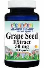1344 Buy 1 Get 2 Free Grapeseed Extract 50mg 100caps or (200caps Scroll Down)