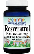 14764 Buy 1 Get 2 Free Resveratrol Extract Equivalent 3000mg 90caps or (180caps Scroll Down)