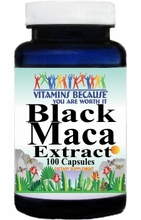 14825 Buy 1 Get 2 Free Black Maca Extract Equivalent 1600mg 100caps or (200caps Scroll Down)