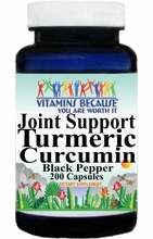 15099 Buy 1 Get 2 Free Joint Support Turmeric Curcumin Black Pepper 200caps or (100caps Scroll Down)