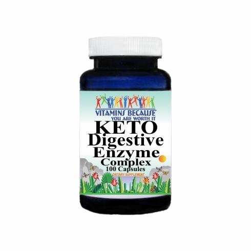 15358 Buy 1 Get 2 Free KETO Digestive Enzyme Complex 100caps or (200caps Scroll Down)