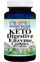 15365 Buy 1 Get 2 Free KETO Digestive Enzyme Complex 200caps or (100caps Scroll Down)