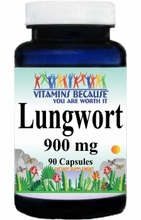 1740 Buy 1 Get 2 Free Lungwort 900mg 90caps or (180caps Scroll Down)