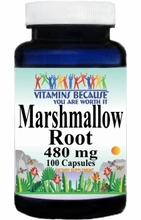 1849 Buy 1 Get 2 Free Marshmallow Root 480mg 100caps