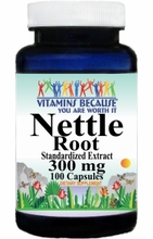 2013 Buy 1 Get 2 Free Nettle Root Standardized Extract 300mg 100caps or (200caps Scroll Down)