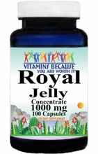 2402 Buy 1 Get 2 Free Royal Jelly Concentrate 1000mg 100caps or (200caps Scroll Down)