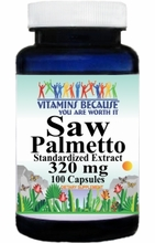 2495 Buy 1 Get 2 Free Saw Palmetto Standardized Extract 320mg 100caps or (200caps Scroll Down)