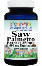 2518 Buy 1 Get 2 Free Saw Palmetto Extract Equivalent 1000mg 100caps or (200caps Scroll Down)