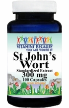2631 Buy 1 Get 2 Free St. John's Wort Standardized Extract 300mg 100caps or (200caps Scroll Down)