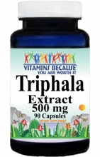 2730 Buy 1 Get 2 Free Triphala Extract 500mg 90caps or (180caps Scroll Down)