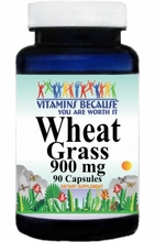 2907 Buy 1 Get 2 Free Wheat Grass 900mg 90caps or (180caps Scroll Down)