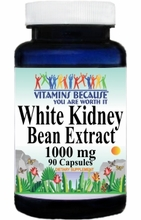 2914 Buy 1 Get 2 Free White Kidney Bean Extract 1000mg 90caps or (180caps Scroll Down)