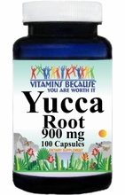3126 Buy 1 Get 2 Free Yucca Root 900mg 100caps or (200caps Scroll Down)