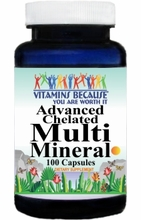 3904 Buy 1 Get 2 Free Advanced Multi Mineral 100caps or (200caps Scroll Down)