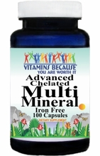 3928 Buy 1 Get 2 Free Advanced Multi Mineral IF 100caps or (200caps Scroll Down)