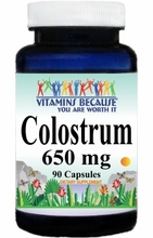 4734 Buy 1 Get 2 Free Colostrum 650mg 90caps or (180caps Scroll Down)
