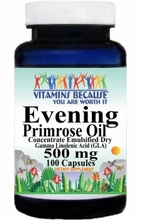5809 Buy 1 Get 2 Free Evening Primrose Oil Concentrate 500mg 100caps or (200caps Scroll Down)