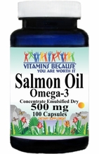 6042 Buy 1 Get 2 Free Salmon Oil Omega 3 500mg 100caps or (200caps Scroll Down)