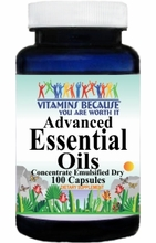 6080 Buy 1 Get 2 Free Advanced Essential Oils (Emulsified Dry) 100caps or (200caps Scroll Down)