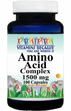 6103 Buy 1 Get 2 Free Amino Acid 1500mg Complex 100caps or (200caps Scroll Down)