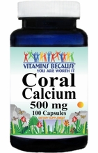 6639 Buy 1 Get 2 Free Coral Calcium 500mg 100caps or (200caps Scroll Down)
