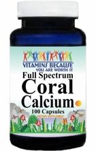 6653 Buy 1 Get 2 Free Full Spectrum Coral Calcium 100caps or (200caps Scroll Down)