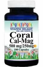 6677 Buy 1 Get 2 Free Coral Calcium Cal/Mag 100caps or (200caps Scroll Down)