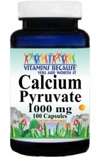 6899 Buy 1 Get 2 Free Calcium Pyruvate 1000mg 100caps or (200caps Scroll Down)