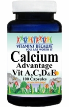 6981 Buy 1 Get 2 Free Calcium Advantage A,C,D,and E 100caps or (200caps Scroll Down)