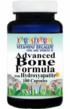 7025 Buy 1 Get 2 Free Advanced Bone Formula With Hydroxyapatite 100caps or (200caps Scroll Down)