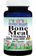 7049 Buy 1 Get 2 Free Bone Meal With Vitamin D 100caps or (200caps Scroll Down)