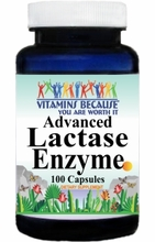 7353 Buy 1 Get 2 Free Advanced Lactase Enzyme 100caps or (200caps Scroll Down)