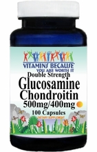 7612 Buy 1 Get 2 Free Double Strength Glucosamine and Chondroitin 100caps or (200caps Scroll Down)