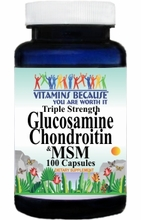 7643 Buy 1 Get 2 Free Triple Strength Glucosamine, Chondroitin and MSM 100caps or (200caps Scroll Down)