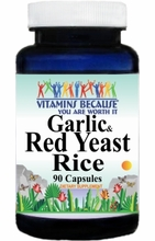 8015 Buy 1 Get 2 Free Garlic and Red Yeast Rice 90caps